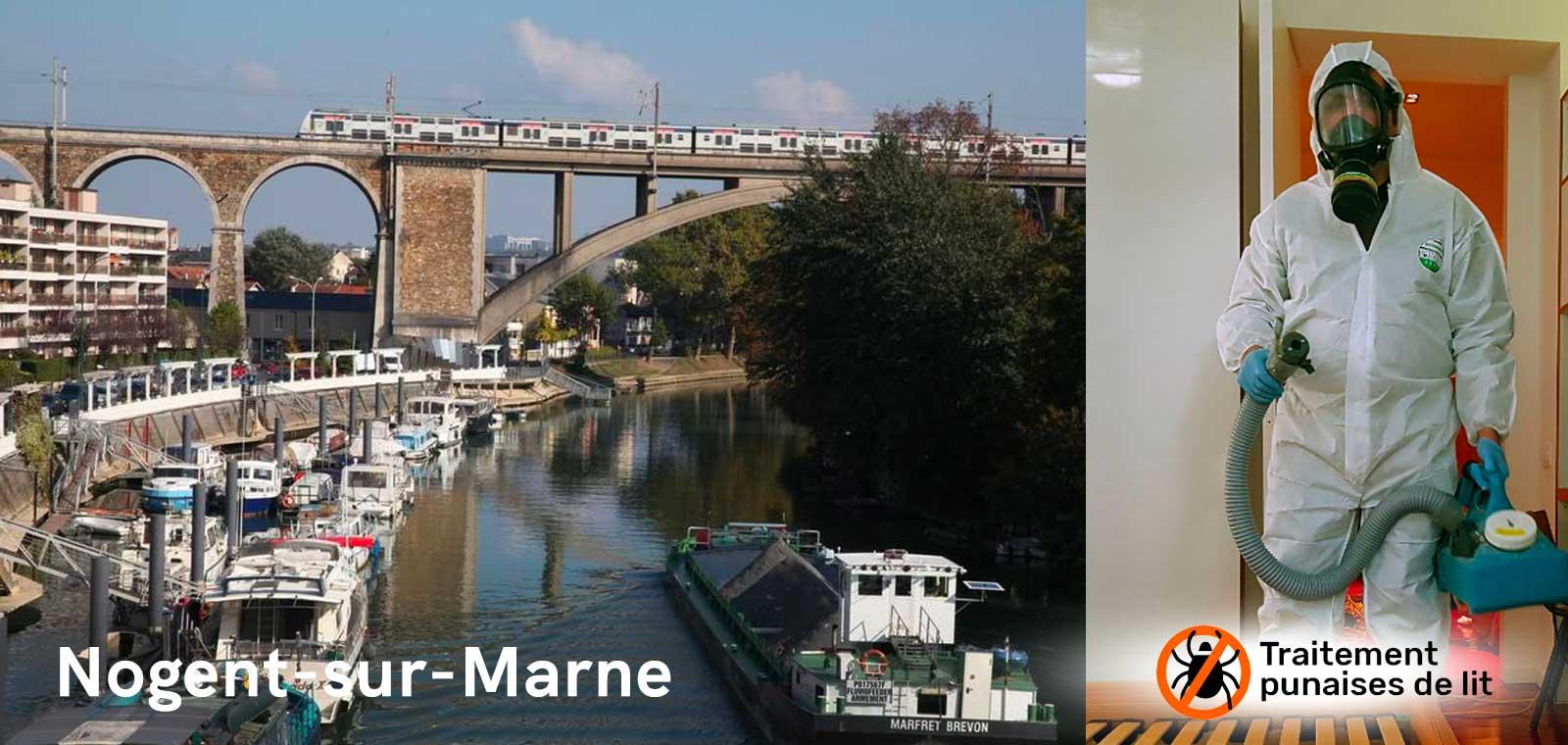 Désinfection Punaises de lit Nogent-sur-Marne 94130